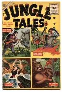 Jungle Tales #7 1955- Waku- Jann of the Jungle- G/VG