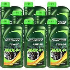 8x1 litres Fanfaro Max 4+ 75w-90 gl-4+ API Huile Vollsynthetisch Gear Oil