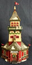 "Heritage Village ~ North Pole Series ~ Dept. 56 ~ ""Santa's Lookout Tower"" ~56294"