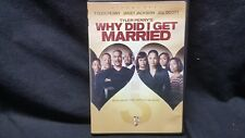 Tyler Perrys Why Did I Get Married (DVD, 2008, Widescreen)