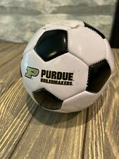 """Spirit Products Purdue Boilermakers Soccer Mini Synthetic Leather Soccer Ball 5"""""""