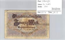 BILLET ALLEMAGNE - 20 MARK 1914*