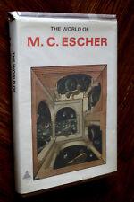 The World of M. C. Escher 1st Edition 1971 Original LifeTime Book Cover