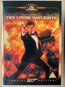 The Living Daylights DVD 1987 James Bond 007 w/ Timothy Dalton Special Edition