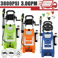 Mrliance 3800PSI 3.0GPM Electric High Pressure Cleaner Machine 2000W Washer