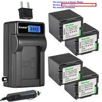 Kastar Battery LCD AC Charger for HITACHI DZ-BP21S & DZ-GX25M DZ-GX3100 Camera