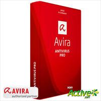 AVIRA Antivirus Pro 1 PC 2018 Vollversion 1 Jahr Anti-Virus NEU Deutsch-Lizenz