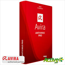AVIRA Antivirus Pro 1 PC 2018 Vollversion 1 Jahr Anti-Virus NEU Deutsch-Lizenz