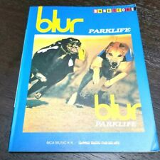 Rare!! Band score blur PARKLIFE score sheet out of print rare score From Japan