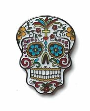 Day of the Dead (Dia de los Muertos) Candy Mask Lapel Pin Badge (C7)
