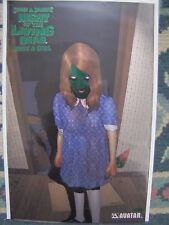 Night of the Living Dead Just A Girl  Green Foil  LTD 450 with cards & COA NEW