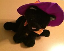 Hallmark Halloween Black Cat with Hat