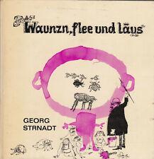 Buch Georg Strnadt Waunzn, flee und läus, gebunden, signiert, gebraucht