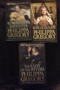 Philippa  Gregory books x 3