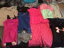 34 piece various size 10 12 small xs shorts shirts girls juniors