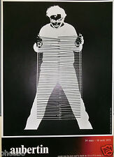 AUBERTIN - RARISSIME AFFICHE POUR LE CENTRE NATIONAL D'ART CONTEMPORAIN 1972