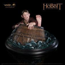 WETA The Hobbit: Bilbo Baggins Barrel Rider Figure Statue New Sealed