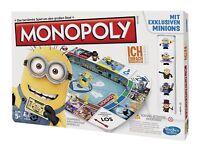 Hasbro Monopoly Ich - Einfach unverbesserlich Brettspiel Spiel Minions Gru NEU