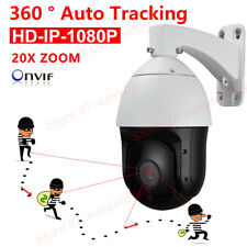 Security High Speed POE 2MP AutoTracking PTZ Camera 20X Optical 16X Digital Zoom