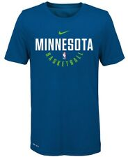 MINNESOTA TIMBERWOLVES NIKE NBA TEE T SHIRT BLUE MENS SZ SMALL S NEW  927888-476 8bec68383