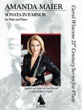 Sonata in B minor Flute and Piano Book New 000244892