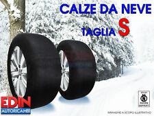 CALZE DA NEVE OMOLOGATE AUTO TAGLIA S PER PNEUMATICI  195/45R16  195/45/16