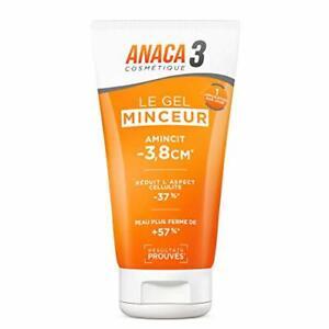 ANACA 3 Le Gel Minceur Perte De Poids Régime Amincissement Brûleur Graisse 150ml