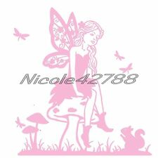 Vinyl Fairy Decal/Wall/Laptop/Tablet /Car Decal/Art n Crafts/Embelishmet/Sticker