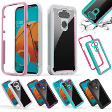 For LG Phoenix 5/Risio 4/Stylo 6 K51 Case Shockproof Bumper Hybrid Phone Cover