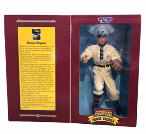 1996 Starting Lineup Cooperstown Collection Honus Wagner Figure Limited Edition