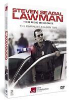 STEVEN SEAGAL LAWMAN NEW 2 DVD SET COMPLETE SEASON 2 CRIME & INVESTIGATION