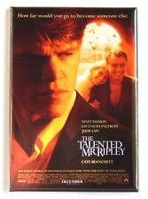 The Talented Mr. Ripley Fridge Magnet (2.5 x 3.5 inches) movie poster