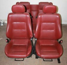 Opel Astra G Cabriolet Leather Seats Red