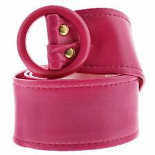 Cheap Any 4 Mix Offer Plain /& Pattern Mix Ladies Thin Leather Belt Made In UK