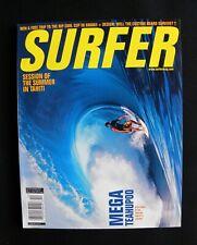 Surfer Magazine Uncirculated 2001 Vol.42 Dec. Surfing Hawaii Surfer Longboard