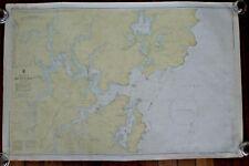AUSTRALIAN NAUTICAL MAP Broken Bay N.S.W. Royal Australian Navy AUS 204
