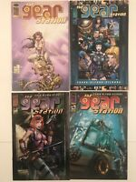 Gear Station Comic Bundle #1 #2 #3 #4 (#1 Turner Variant) Image Comics  (22)