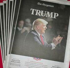 Collectible President Donald Trump Newspaper Memorabilia Photo 2016 Picture