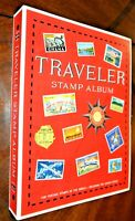 CatalinaStamps: 1974 Harris Traveler World Stamp Album, 2,154 Stamps, D379