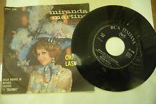 """MIRANDA MARTINO""""NUSTALGIA-disco 45 giri RCA It 1968"""" RIVISTA MUSICALE"""