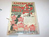 1932 AMERICAN FIELD seed catalog CHICAGO IL