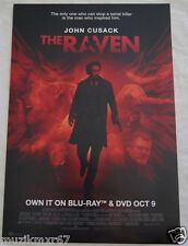 SDCC Comic Con 2012 EXCLUSIVE John Cusack The RAVEN promo poster