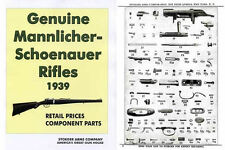 Steyr-Mannlicher Schoenauer Repeating Sporting Rifles 1939 Stoeger Gun & Parts C