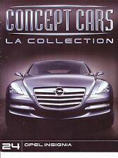 CAHIER AUTOMOBILE Concept cars OPEL INSIGNIA   15 pages