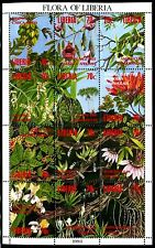 Liberia 1159, MNH, Flowers Orchids. x8247