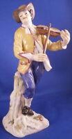 Meissen Porcelain Violin Player Figurine Figur Porzellan Figur German Violinist