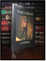 The Crow ✎SIGNED✎ by JAMES O'BARR New Sealed Easton Press Leather Bound Hardback