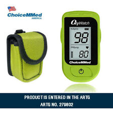 Fingertip Pulse Oximeter Md300c15 Blood Oxygen Saturation Monitor With Carrycase