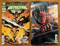 DETECTIVE COMICS 1031 2020 Main Cover + Lee Bermejo Variant Set DC NM