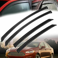 For Ford Fusion 2013-2018 Window Visor Rain Guard Shield Trim Deflector Tint NEW